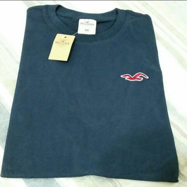 全新純棉 A&F HCO 素面LOGO短袖T恤 Hollister  Abercrombie & Fitch 海鷗 麋鹿 丈青