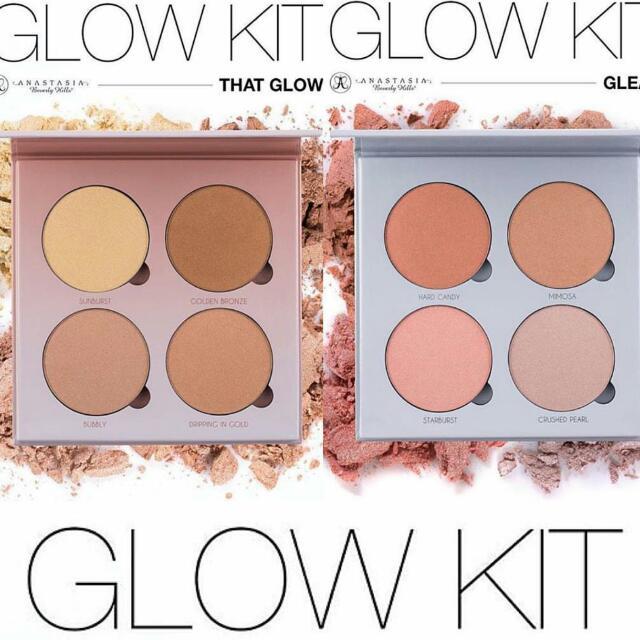 Anastasia Beverly Hills Glow Kit Highlighters, Health & Beauty on Carousell