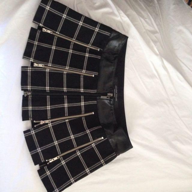 Australian Designed Zipper Mini Shirt