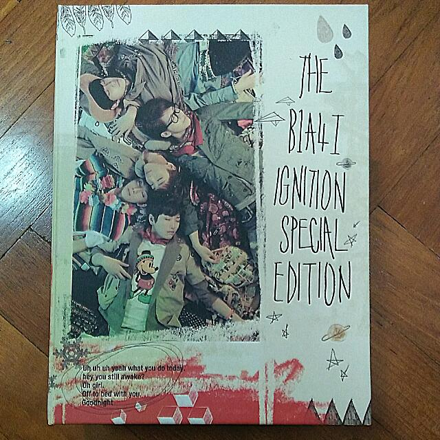 B1A4 Ignition Special Edition