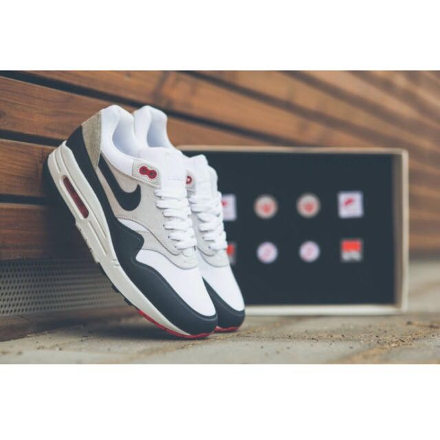 new arrival c1bcc 7b3b4 BNIB Nike Air Max 1 V SP Patch (704901-146), Luxury on Carousell