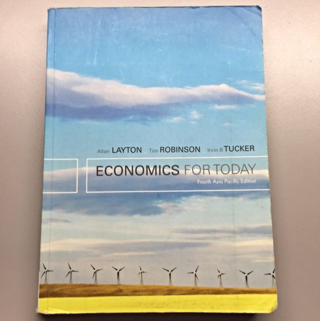 Economics For Today- 4th Edition