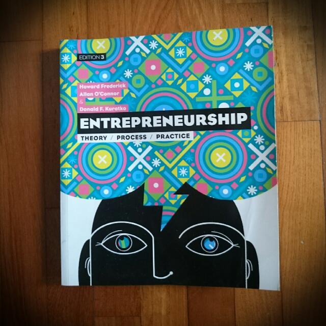 Entrepreneurship Theory Process Practice Books Stationery