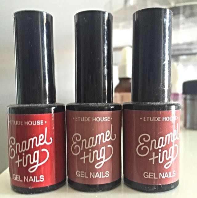 GEL INK NAIL POLISH BY ETUDE HOUSE, Health & Beauty on Carousell