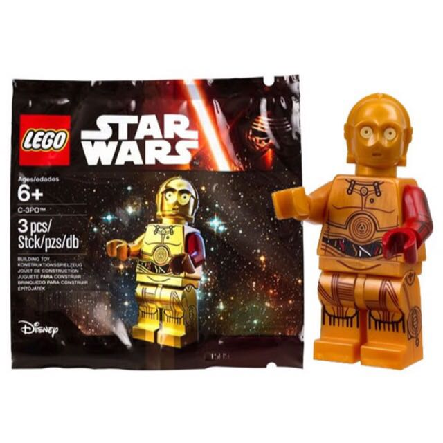 Lego 2015 C3po 星際大戰 機器人! Star Wars 迷必收款