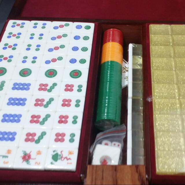 Limited Edition MBS Mini Majong Set