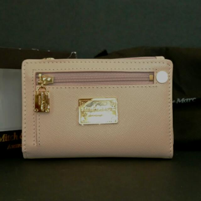 Mitch & Marc Leather Card Case