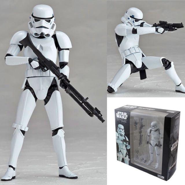 (New) Star Wars 星際大戰 白兵 (可動式)