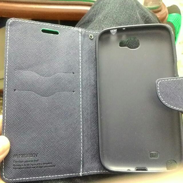 Note2掀蓋手機殼(很新)