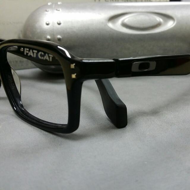 Oakley Prescription Frames. Spectacles Without Lens. Model: Fat Cat ...