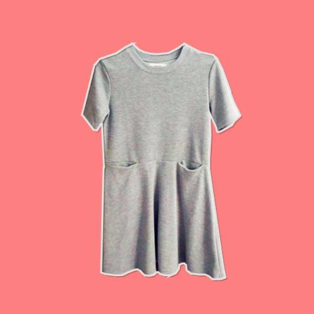 pazzo 灰色 可愛 連身裙 洋裝