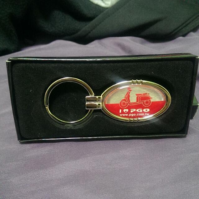 PGO 鑰匙圈  贈品 全新