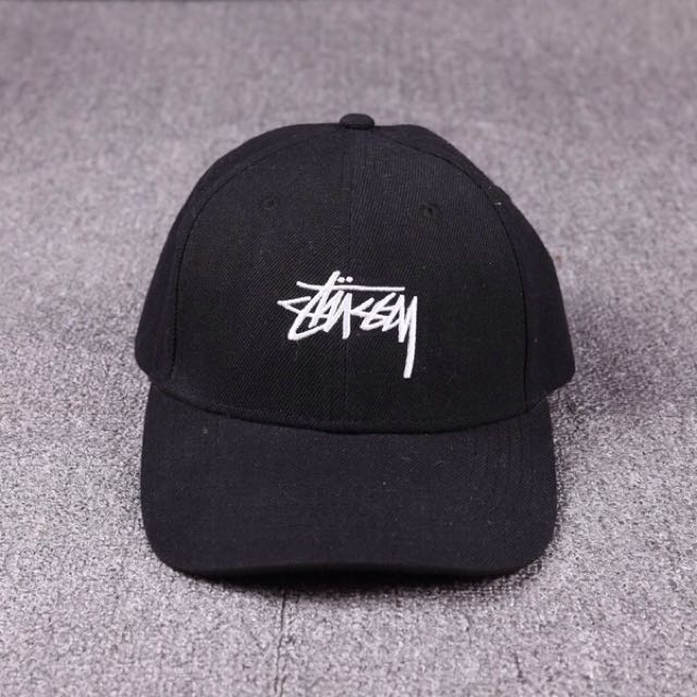 待匯款)Stussy 翻玩老帽 彎帽