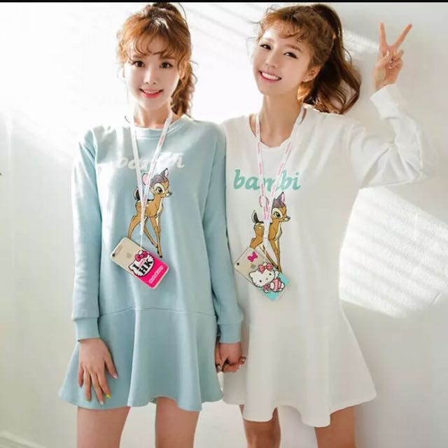 小鹿連衣裙-tiffany綠 M