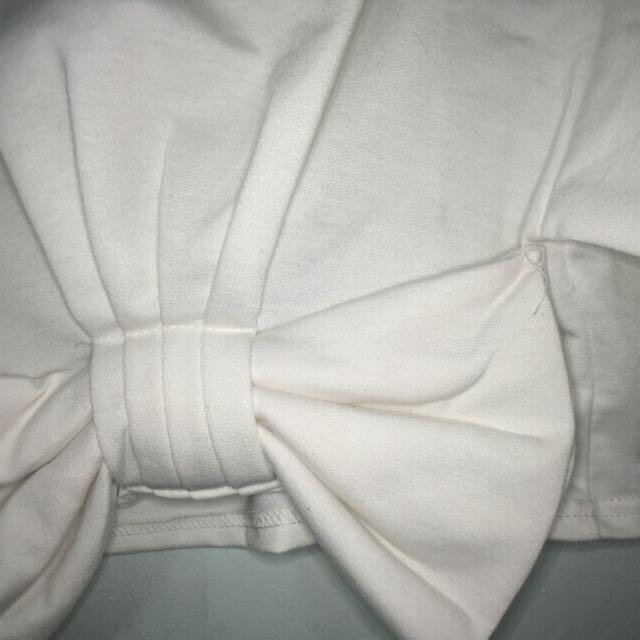 White Ribbon Top