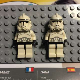 Lego Star Wars Clone Troopers (Phase 2) -  7655