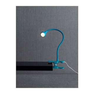 (已售出)💡LED夾式聚光燈(藍色)-IKEA絕版品
