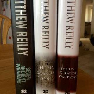 Matthew Reilly 'Jack West' Trilogy
