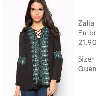 New Zalia Blouse
