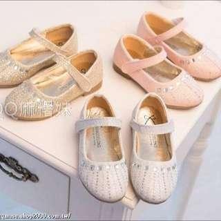 【童鞋】小公主系列 閃亮包鞋