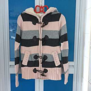 Brand New Winter Sweater With Hoodie