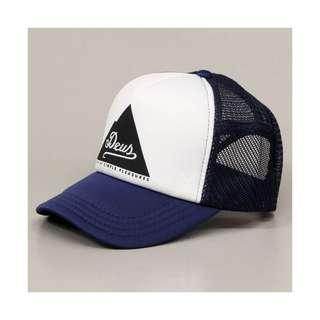 RICKS CAP / HAT / TOPI TRUCKER CUSTOME DEUS EX MACHINA HOUSE OF SIMPLE PLEASURE 2.2 /NAVY