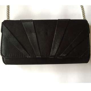 Rubi Black Clutch Bag