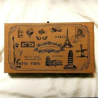 紐約/巴黎-17入經典印章木盒款