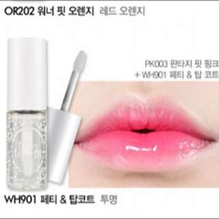 Etude House Top Coat Lips