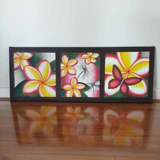 Bali Hand Painted Canvass