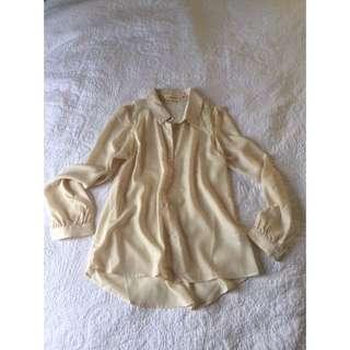 Size L Shirt w/ Lace Back