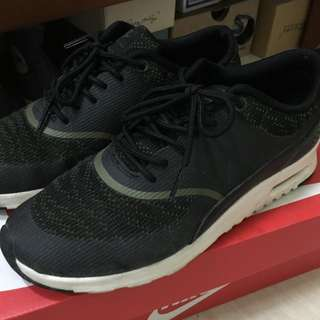【保留】正品Nike Woman Air Max Thea 7 黑色 女鞋