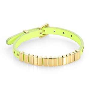 Authentic Micheal Kors Darrington Leather Bracelet