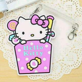 Maggie ❤尋寶趣❤ 糖果Kitty悠遊卡卡套證件套