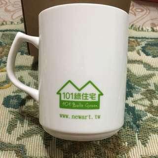 101  綠全宅馬克杯 全新