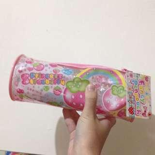 降價 日本帶回~草莓公主果凍粉筆袋