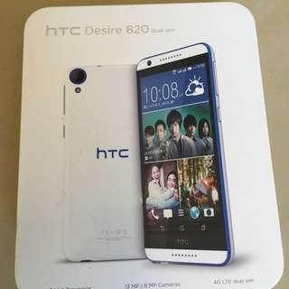 二手 hTC820 藍白