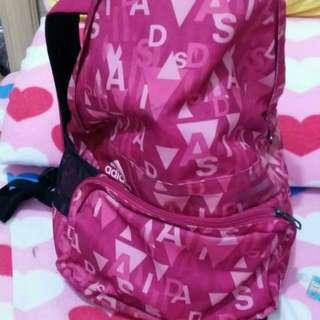 愛迪達厚背包