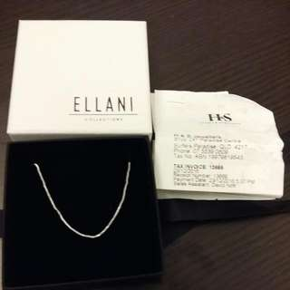 REPRICED - BN Sterling Silver Necklace Chain With Box