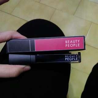 Beauty People 不掉色保濕香氛唇露 薔薇紅