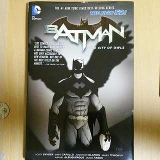 Batman: The City Of Owls Vol 2(New 52)