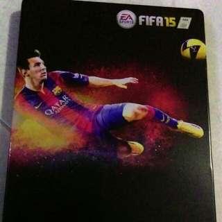 FIFA 15 Steel Case