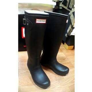 Hunter Boots 高筒霧面黑