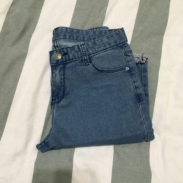 韓版五分褲