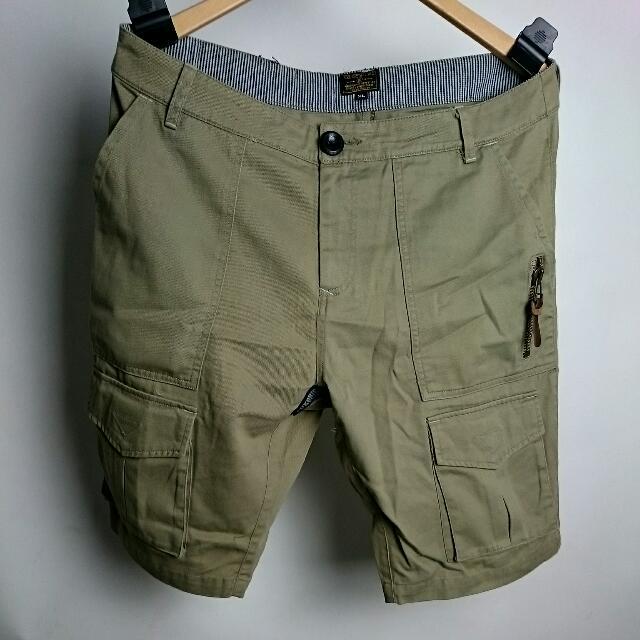 潮品 - 水洗工作短褲