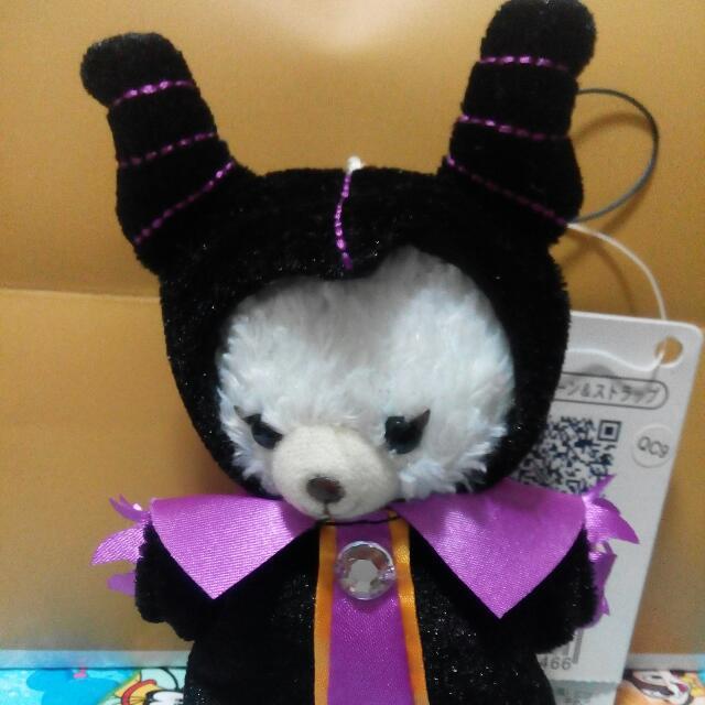 日本迪士尼 變裝 大學熊 黑魔女