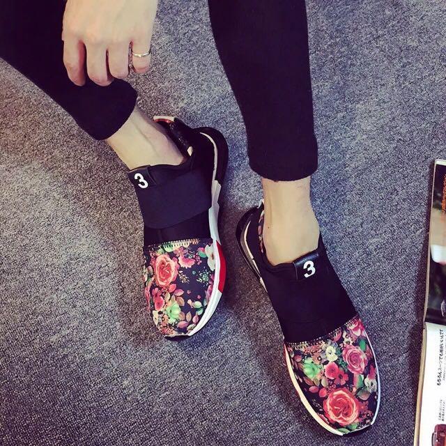 韓國潮流運動情侶鞋 百搭撞色 特價 帆布鞋 懶人鞋