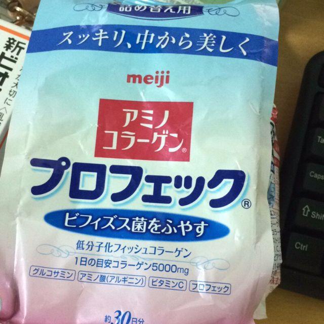 日本帶回 明治 膠原蛋白  順暢配方 益生菌 30日份