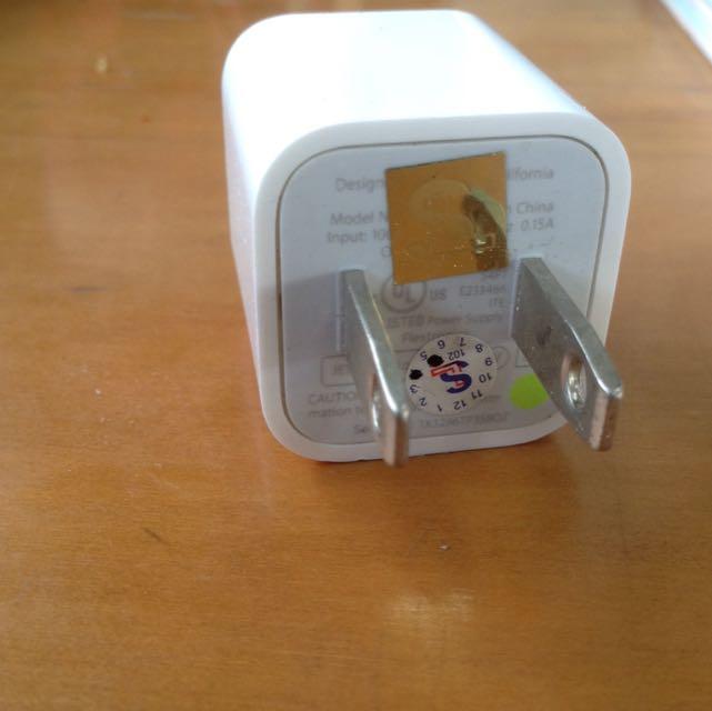 Apple 豆腐充電器 iPhone