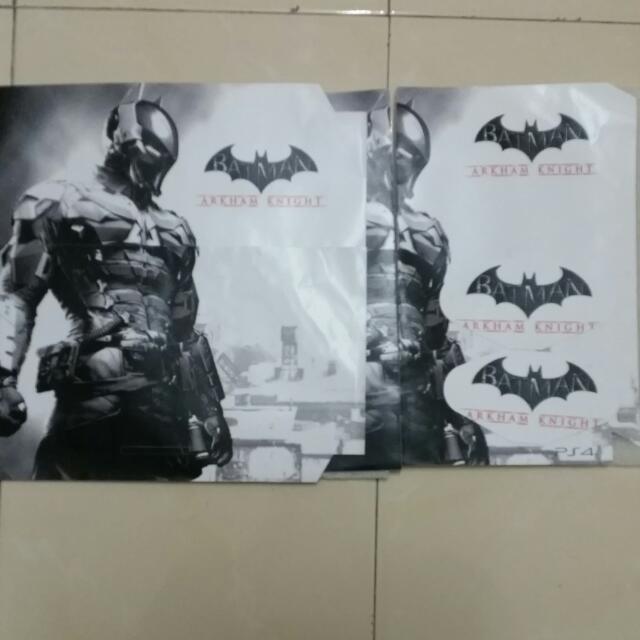 Batman PS4 Skin  ( Console + 2 Dualshocks )